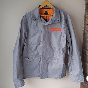 Black scale lightweight  jacket